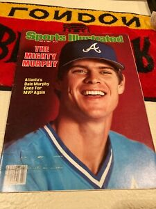 1983 Sports Illustrated Dale Murphy no label