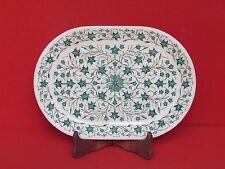 Marble Tray Inlay Handmade Craft Stone Pietra dura Home Decor & gift