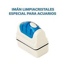 IMAN LIMPIACRISTAL FLOTANTE ACUARIO 70x37x70 LIMPIEZA CRISTALES ALGAS LIMPIADOR