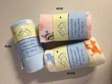 ROSE *** Couverture polaire imprimée King Bear / plaid polaire pour bébé * NEUF