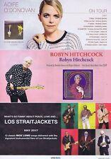 AOIFE O'DONOVAN / ROBYN HITCHCOCK / LOS STRAITJACKETSoriginal press clipping