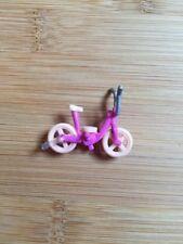 VINTAGE 2000 Polly Pocket Mattel DISK PLAYER trendy Tronics Bluebird bicicletta Figura
