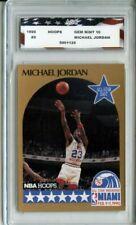 1990 Hoops All-Star #5 Michael Jordan AGC 10 Gem Mint Chicago Bulls