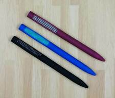 Silent Fidget Pen for Anxiety Stress Relief Focus Autism Adhd 3 Wine Color Pack