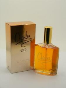 Charlie Gold Revlon EDT Spray 3.4 fl oz 100ml New In Box