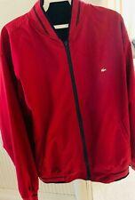 Lacoste Men's Red/Black blue Jacket Size M
