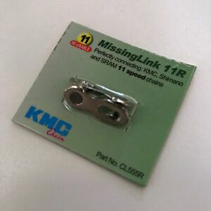 KMC 11 Speed Chain Joining Link — AUS Stock — Bicycle Bike Silver Reusable
