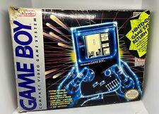 Original NINTENDO Game Boy with Box, Manual and System