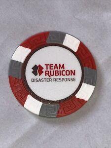 Team Rubicon Disaster Response Logo Poker Chip