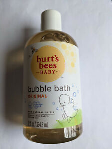 3 PACK Burt's Bees Baby Bee Bubble Bath, Tear Free, 12 fl oz
