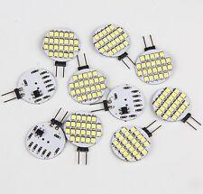 10x Super Bright 4.8w White G4 24SMD Car Home Marine Cabinet LED Light Bulb 12V