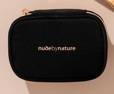 NUDE BY NATURE Compact Vanity Bag cosmetic makeup case NEW!