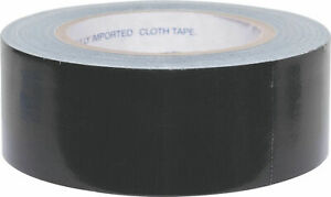 Tough and Sticky Black Gaffa Type Tape 48mm x 10m