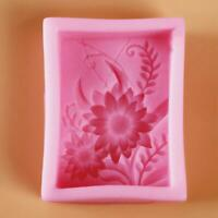 3D Silicone Fondant Mold Cake Decorating Chocolate Sugar Soap Mould Tool DIY