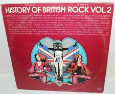 History of British Rock Vol. 2 SASH -3705-2 Vinyl Record Album LP Vintage Sire