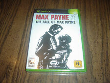 Max Payne 2: The Fall of Max Payne (Xbox, 2003) Brand New Factory Sealed