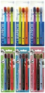 CURAPROX 3960 SUPER SOFT - Pack of 3 TOOTHBRUSHES - CHOOSE COLOURS :-) -1x3-Pack