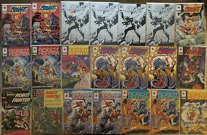 MAGNUS ROBOT FIGHTER 4000 AD GOLDKEY AND VALIANT 1991 - 54 COMICS