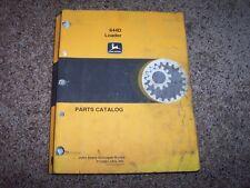 Jd John Deere 644D 644 D Loader Parts Catalog Manual Pc2061 Pc 2061