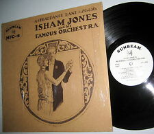 ISHAM JONES and his FAMOUS ORCHESTRA LP reissue of Brunswick sides 1929-1930