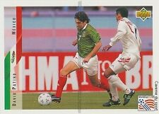 N°024 DAVID PATINO MEXICO TRADING CARDS UPPER DECK WORLD CUP USA 1994