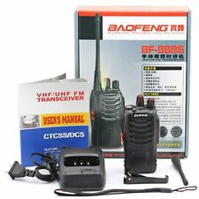 Baofeng Bf-888S Uhf Fm Transceiver Flashlight Walkie Talkie Two Way Radio New