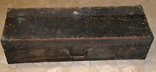 Antique Rustic Country Wood Tool Box