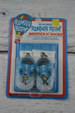 "VINTAGE 1986 Romper Room, Booties N Socks w Do Bee ""dress your doll"" accessories"
