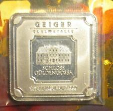 Geiger Edelmettale 1 oz Square