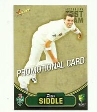 2009 SELECT CRICKET AUSTRALIA PETER SIDDLE # 22 PROMO CARD FREE POST