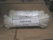 "3/16"" X 100' Pure Braided cotton rope Bird Parrot Toy Parts, Craft Parts USA"