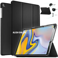 For Samsung Galaxy Tab A 10.1 2019 T510 T515 Case Flip Slim Leather Stand Cover