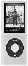 Slim Silicone Case for 4th Generation iPod Nano (Clear)