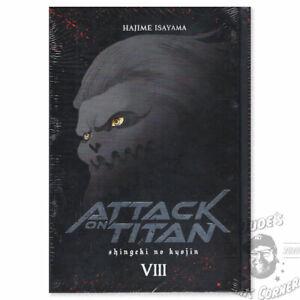 Attack on Titan Deluxe Edition #8 Carlsen Manga! CarlsenManga Hardcover NEU