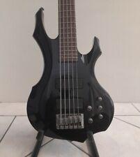 ESP LTD F-255 - 5 String - Electric Bass Guitar - Black