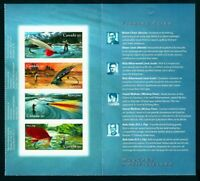 FLY - FISHING - FLIES, FISH = BK page of 4 + Descript page MNH Canada 2005 #2088