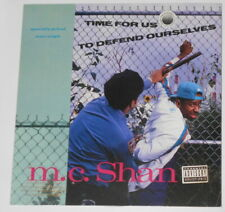 "MC Shan - Time For Us To Defend Ourselves  original U.S. 12"" EP vinyl"