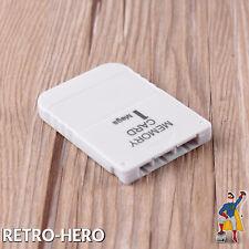 Memory Card 1 MB für Playstation PSX PSOne PS1 1MB Speicherkarte NEU