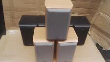 7 Eltax Millennium Mini Bookshelf Speakers très bon état (4-Noir, 3 marron)