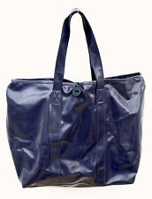Large tote bag, purple plastic fully lined, £10.00