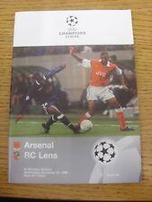 21/10/1998 a Wembley: Arsenale V Dinamo Kiev Coppa dei Campioni []. eventuali difetti vengono