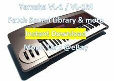 Yamaha VL-1 VL-1M – Patch Sound Library & Bonus - INSTANT D0WNL0AD