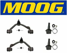 Moog Front Upper Control Arm & Lower Ball Joints Fits 2000 Ford Expedition 4WD