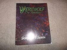Werewolf the Apocalypse Storyteller Screen 1st Ed