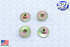 Seat Mounting Nuts 4pk 125 Bench Bucket Fits Charger Roadrunner Duster Mopar