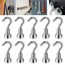 10pcs Magnetic Hooks Great for Hang and Add Storage Powerful Heavy Home Kitchen