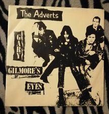 "THE ADVERTS GARY GILMORE'S EYES 7"" VINYL RARE PUNK 1983 BRIGHT RECORDS"