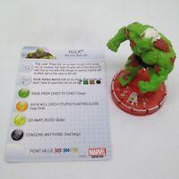 Heroclix Avengers Assemble set Hulk (The End) #064 Chase figure w/card!
