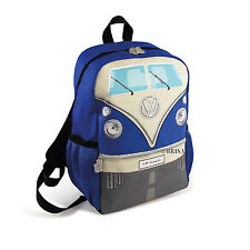 Backpack Small T1 Camper Van Bus Blue Volkswagen VW Collection by BRISA BUBP12