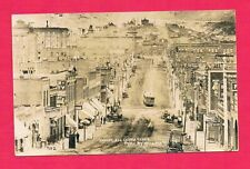 Bennett Avenue Cripple Creek Colorado 1908 Bird's Eye View Of Town's Main Street